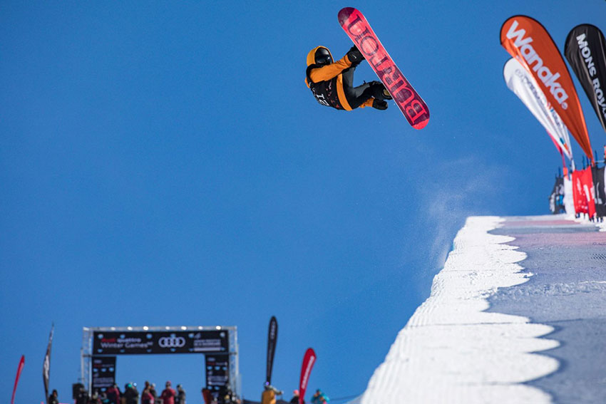 Porteous, Miller, Jia Top FIS Junior Worlds Halfpipe Qualifiers at Winter Games NZ